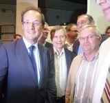 François Hollande pour rassembler les Français.
